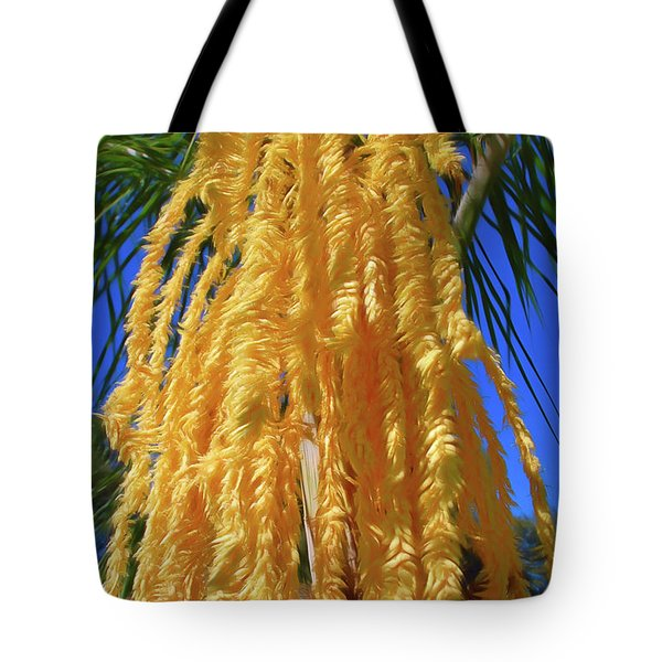 Tote Bag featuring the photograph Romantic Skies Cascading Seed Pod by Aimee L Maher Photography and Art Visit ALMGallerydotcom