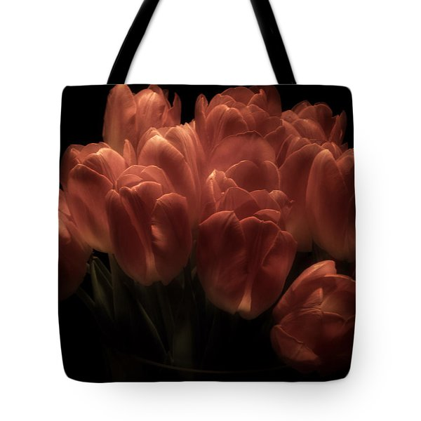 Romantic Tulips Tote Bag