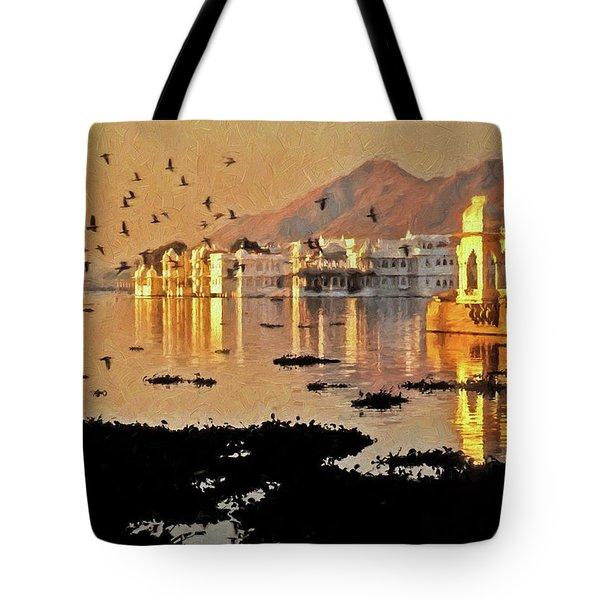 Romantic Udaipur Tote Bag