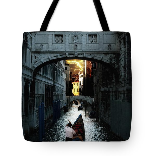 Romantic Venice Tote Bag by Harry Spitz