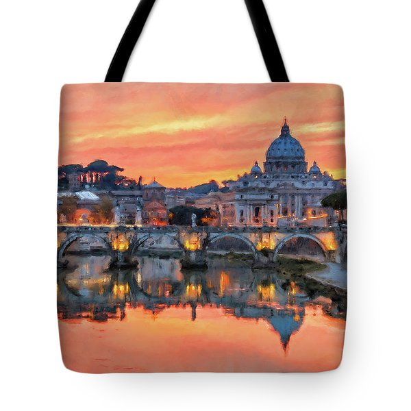 Rome And The Vatican City - 01  Tote Bag