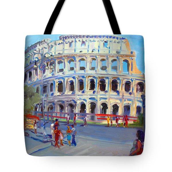 Rome Colosseum Tote Bag