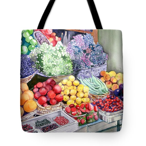 Rome Market Tote Bag