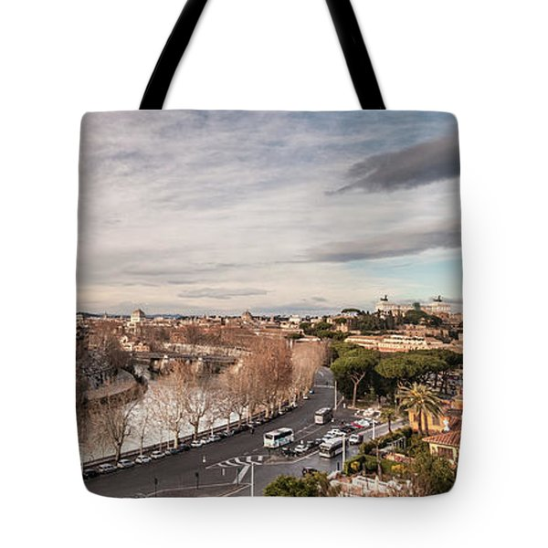 Rome - Panorama  Tote Bag by Sergey Simanovsky