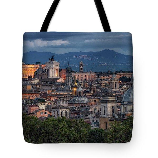 Rome Twilight Tote Bag