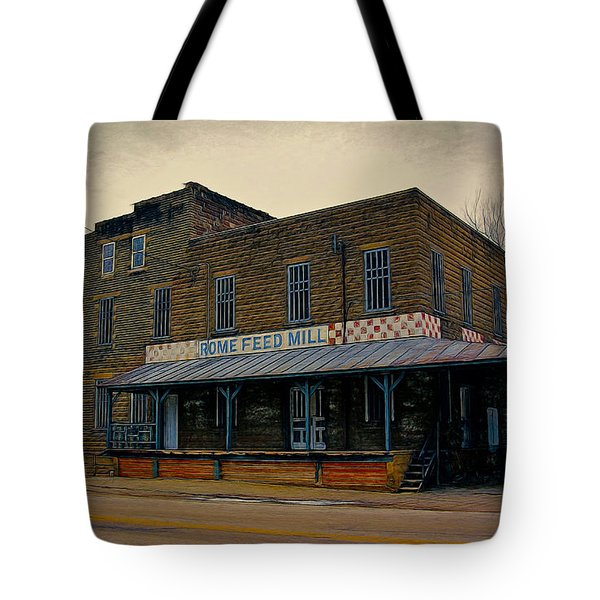 Rome Wisconsin Feed Mill Tote Bag