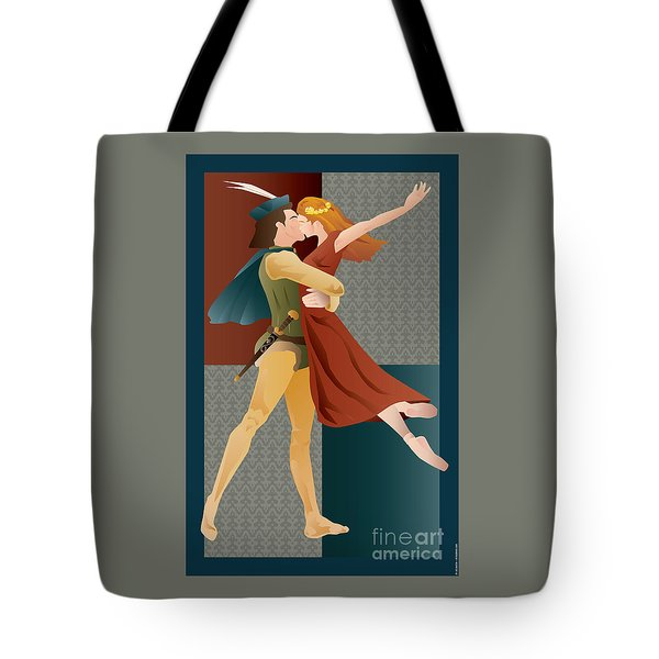 Romeo And Juliet Ballet Tote Bag