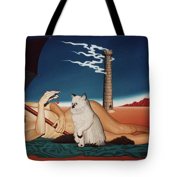 Romeo's Nightmare Tote Bag