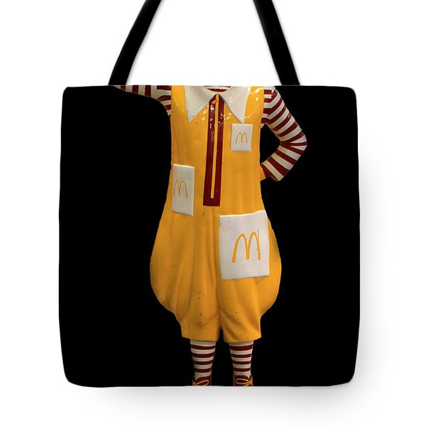 Ronald Mcdonald Tote Bag by Andrew Fare
