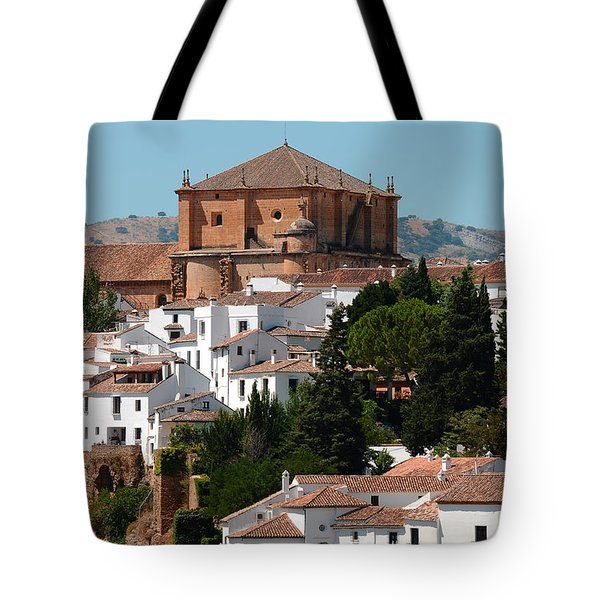 Ronda. Andalusia. Spain Tote Bag by Jenny Rainbow