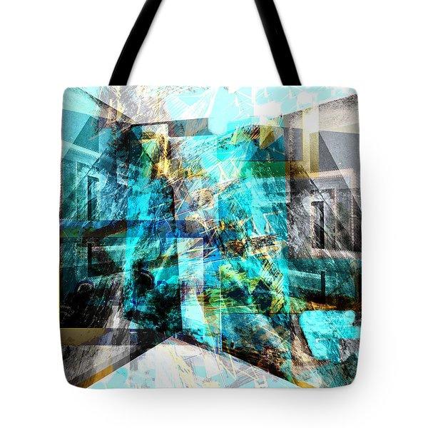 Tote Bag featuring the digital art Rondo Capriccioso by Art Di