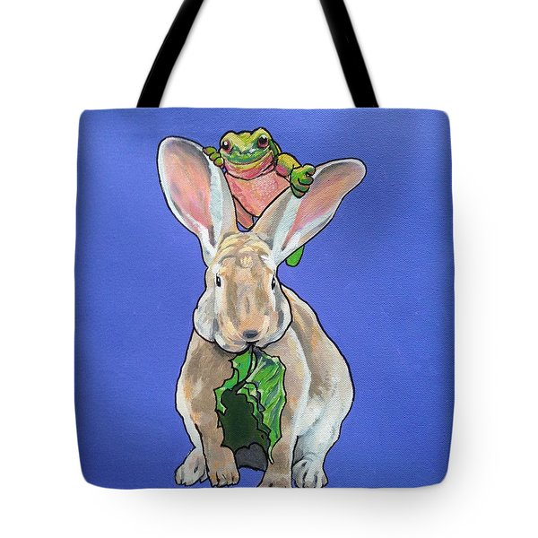 Ronnie The Rabbit Tote Bag