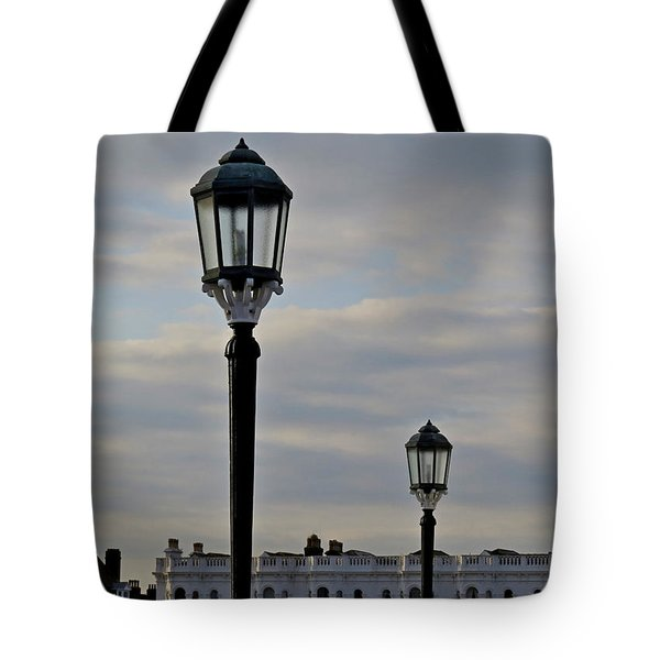 Roof Lights Tote Bag