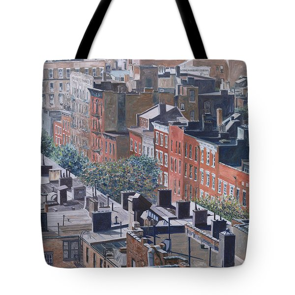 Rooftops Greenwich Village Tote Bag