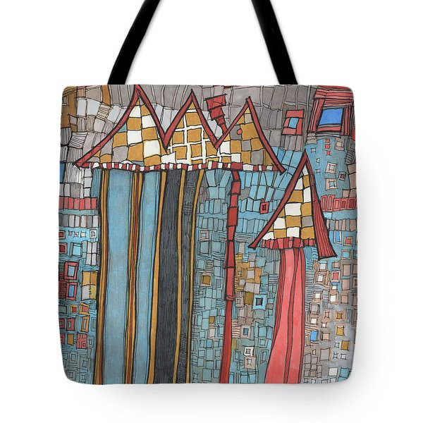 Dilapidated World Tote Bag
