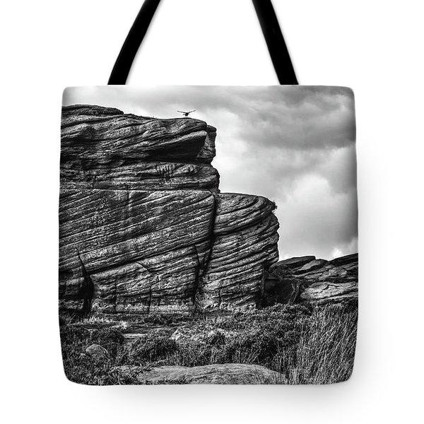 Rook Rock Tote Bag