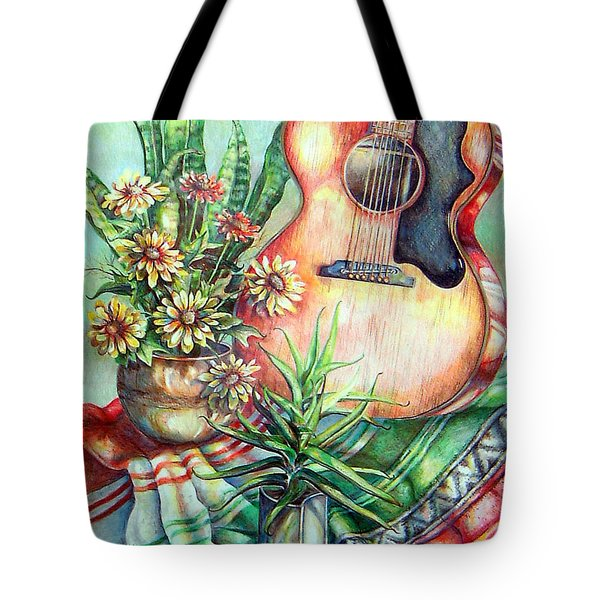 Room For Guitar Tote Bag