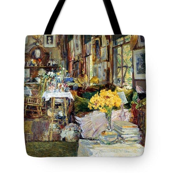 Room Of Flowers, 1894 Tote Bag by Granger