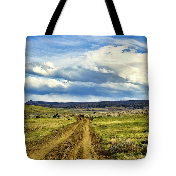 Room To Roam - Wyoming Tote Bag by L O C