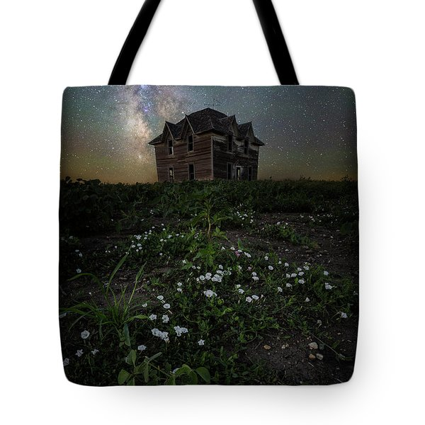Tote Bag featuring the photograph Room With A View by Aaron J Groen