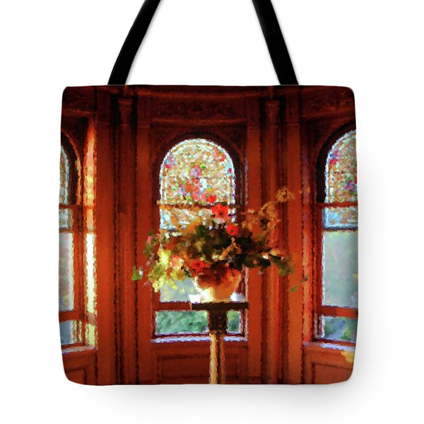 Tote Bag featuring the photograph Room With A View by Kristin Elmquist