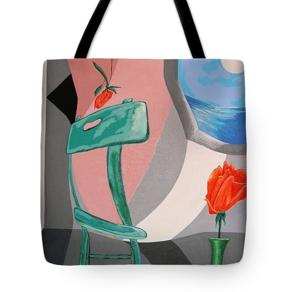 Room With A View #1 Tote Bag