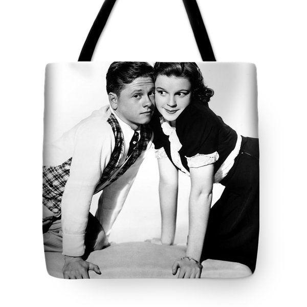 Rooney And Garland, 1938 Tote Bag by Granger