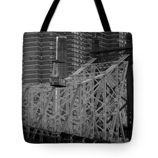 Roosevelt Island Tram Tote Bag