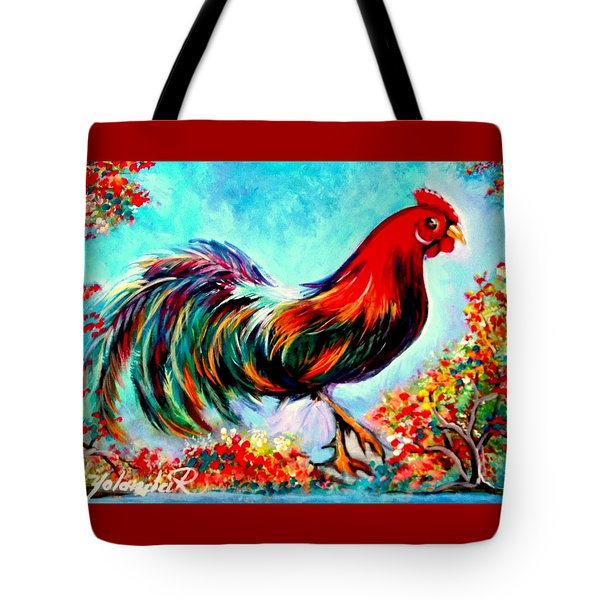 Rooster/gallito Tote Bag by Yolanda Rodriguez