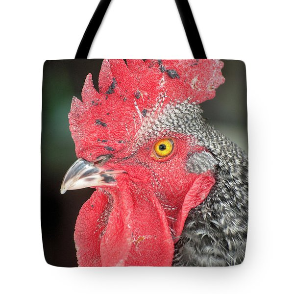 Rooster Named Brute Tote Bag