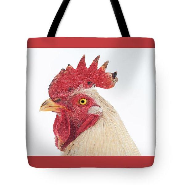 Rooster Named Spot Tote Bag