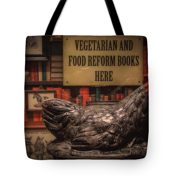 Tote Bag featuring the photograph Rooster by Tim Nichols