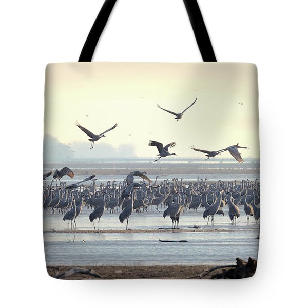 Roosting On The Platte Tote Bag