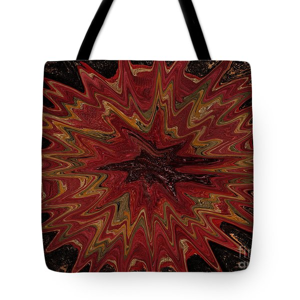 Root Flower Digital Tote Bag