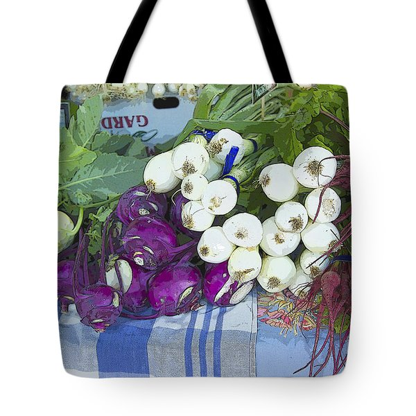 Tote Bag featuring the painting Root Vegetables by Jeanette French