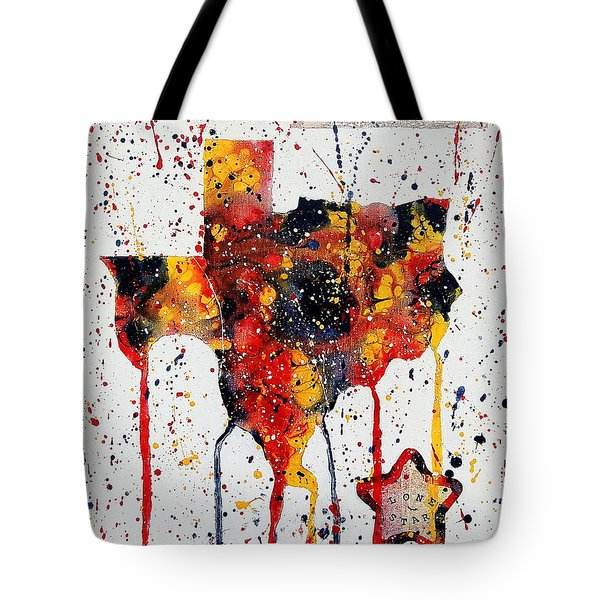 Rooted In Texas Tote Bag