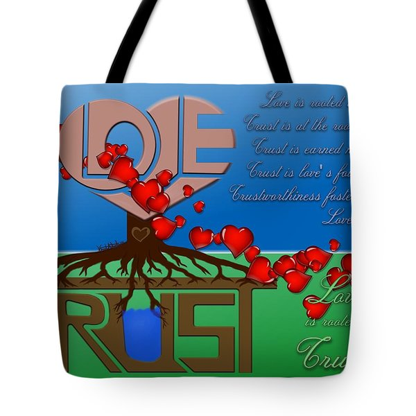 Rooted In Trust Tote Bag