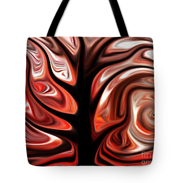 Rooted Tote Bag by Misha Bean