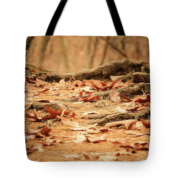 Roots Along The Path Tote Bag