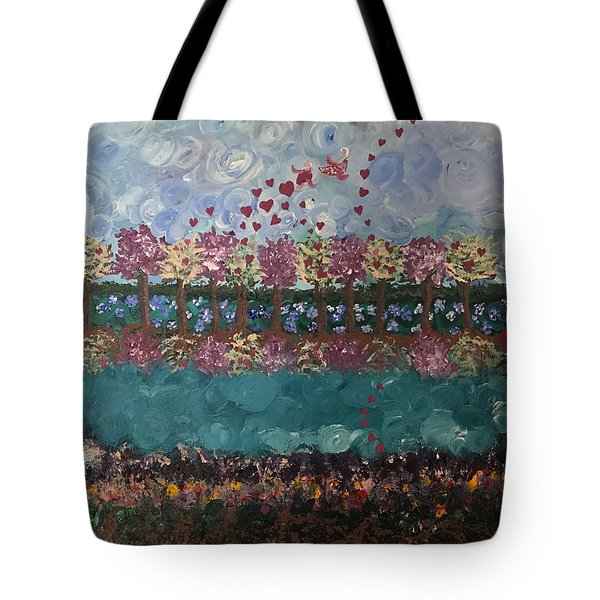 Roots And Wings Tote Bag