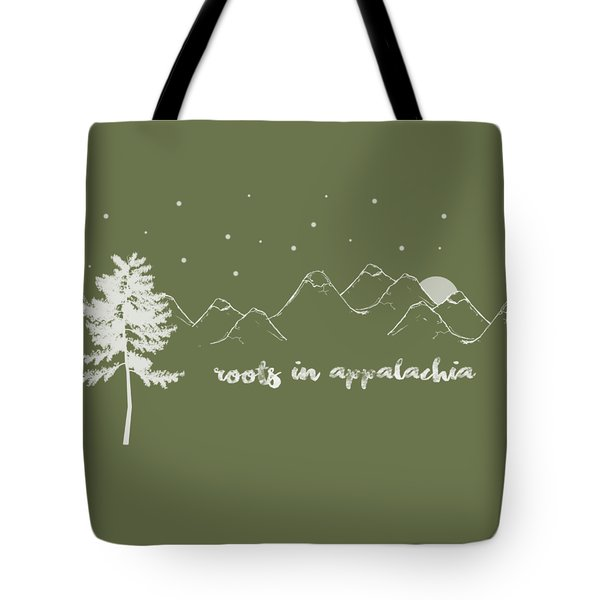Roots In Appalachia Tote Bag by Heather Applegate