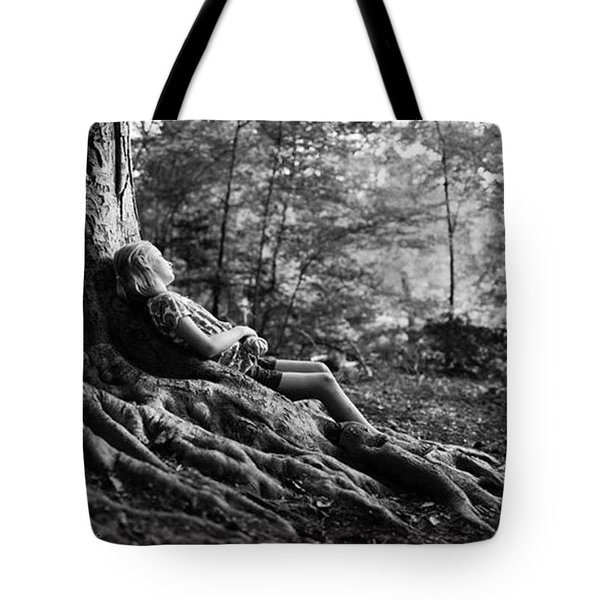 Roots Of Contemplation Tote Bag