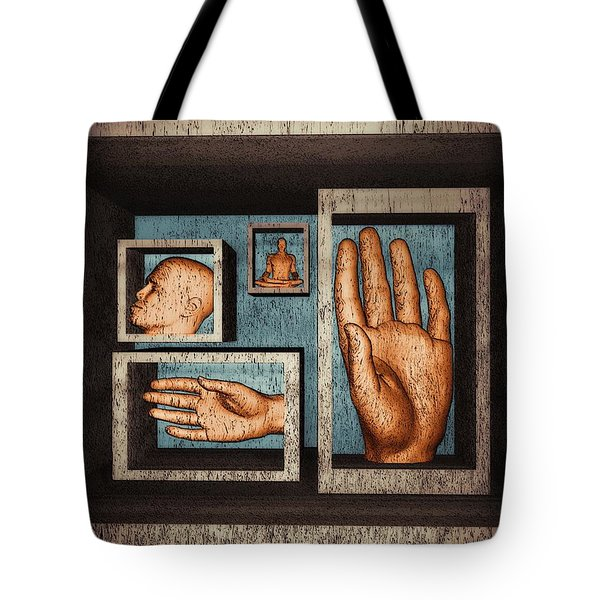 Roots Of Creativity Tote Bag