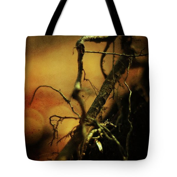Roots Of Life Tote Bag by Rebecca Sherman