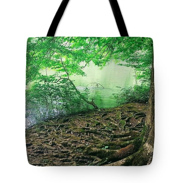 Roots On The River Tote Bag