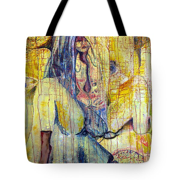 Roots  Tote Bag by Peggy  Blood