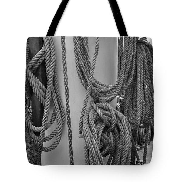 Rope Hung Tote Bag