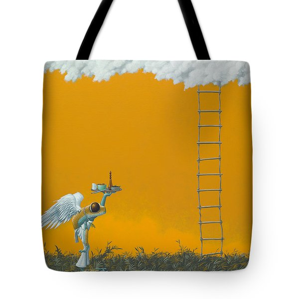 Rope Ladder Tote Bag by Jasper Oostland
