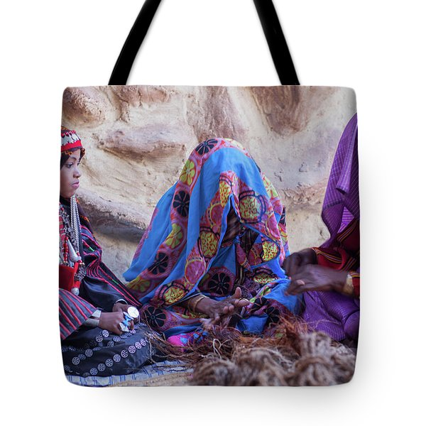 Rope Makers Tote Bag
