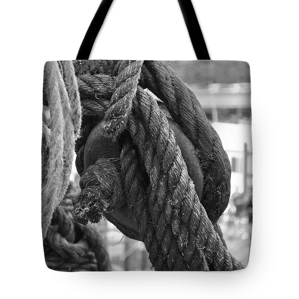 Rope Pulley Tote Bag